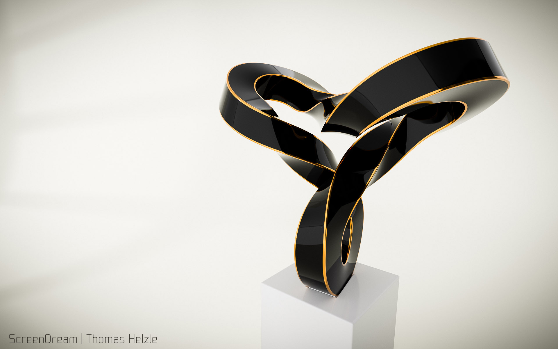 Volker Regenstein: Sculpture Black Orange